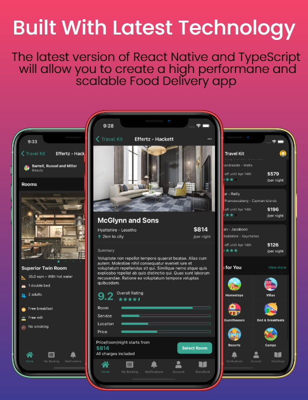 Travel Kit - Mobile React Native Travel & Hotels Template - 3
