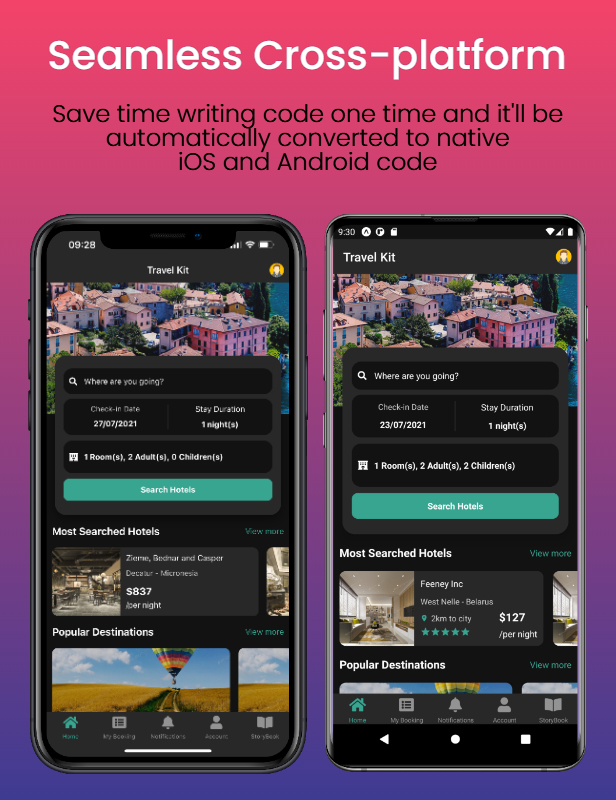 Travel Kit - Mobile React Native Travel & Hotels Template - 5
